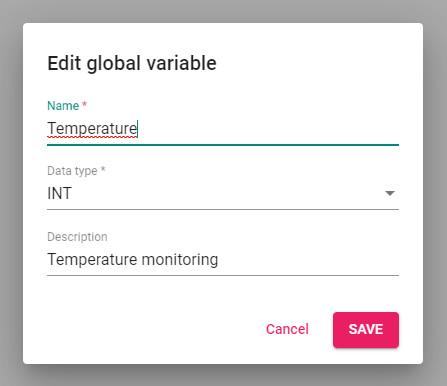 IECuino - Edit global variable